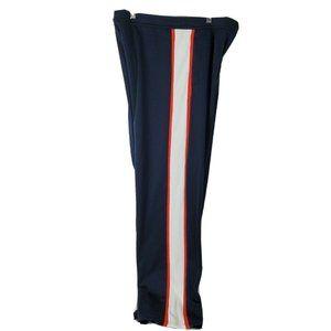 Tory Burch Sports Track Striped Pants XL Womens